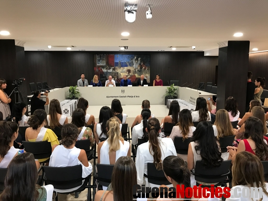 Presentació a l'Ajuntament de Miss World Spain 2017