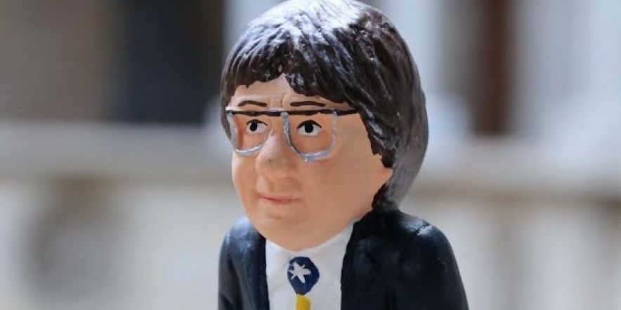 Caganer Puigdemont