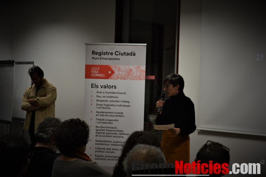 Presentació del Consell per la República a Ceret