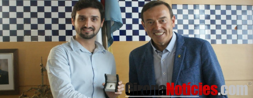 alt - Xavier de Bolós, nou ambaixador d'Olot
