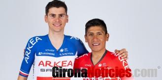alt - Nairo Quintana i Warren Barguil / Arkéa – Samsic