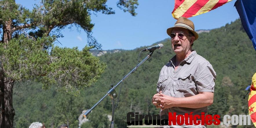 Renyé al Pi de les Tres Branques amb en Jordi Sànchez i Jordi Cuixart