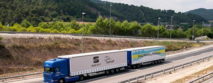 alt - SEAT amplía la flota de duotráilers y gigatráilers para impulsar una logística más sostenible