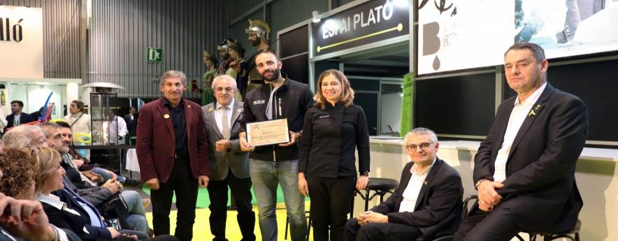 alt - Jordi Latorre, a la cloenda de la 57a edició de la Fira de l'Oli de les Borges Blanques