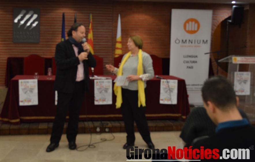 Acte d'Òmnium Cultural a Perpinà