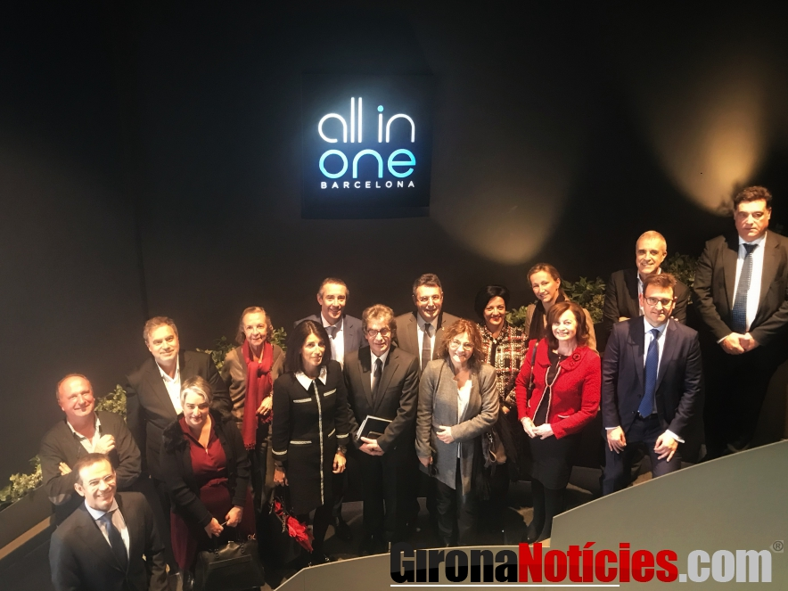 Consell Assessor Girona visita All in One
