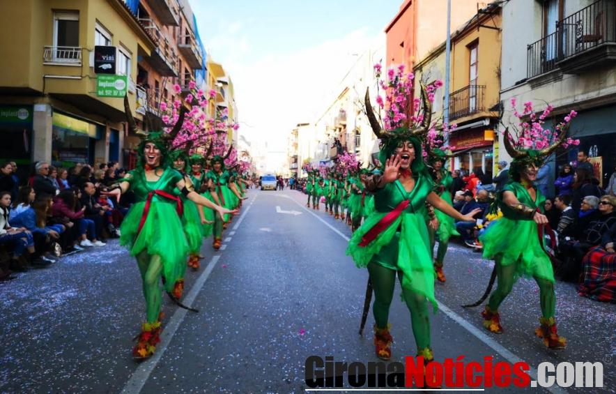 Rua del Carnaval de Palamós