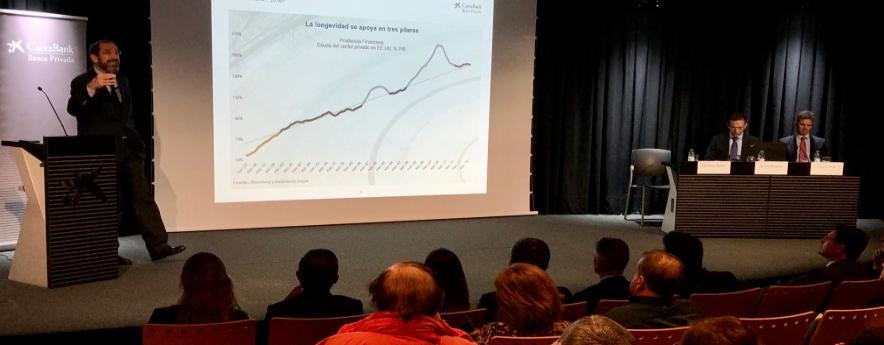 alt - CaixaBank analitza a Tarragona la situació econòmica i les perspectives de 2020
