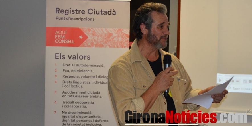 Jep Bonet nou president de la delegació nord-catalana del Consell per la República