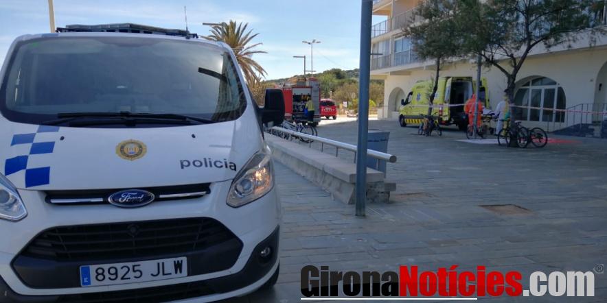 Agents de la Policia Local van rescatar ahir al migdia un home