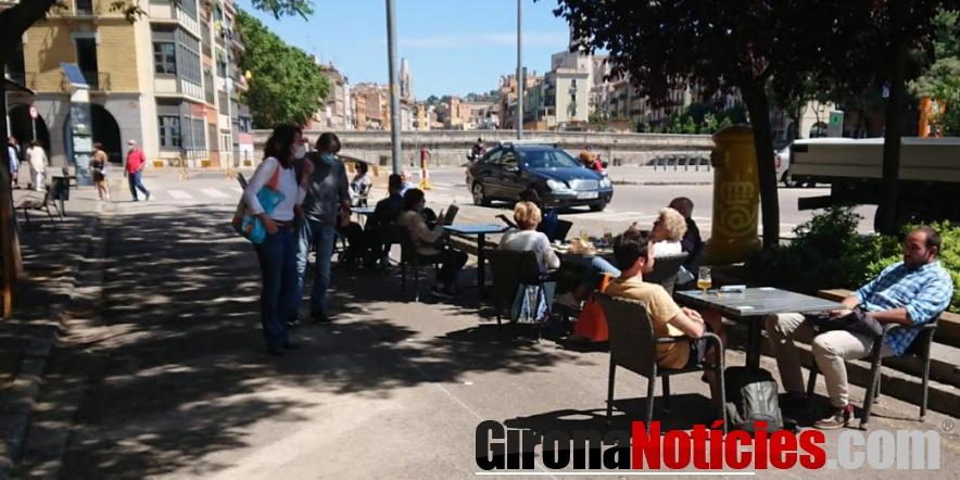 Visita establiment plaça Catalunya