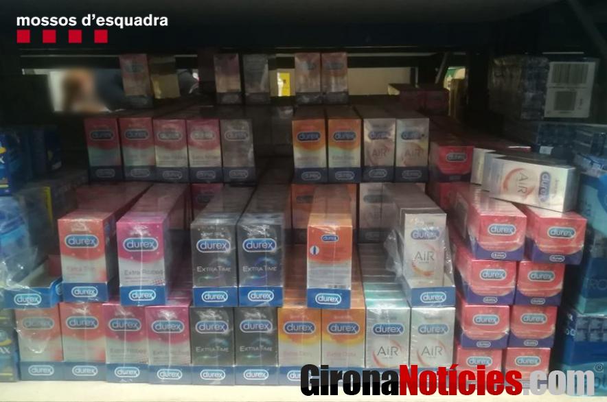 Preservatius falsos i sense marcatge CE
