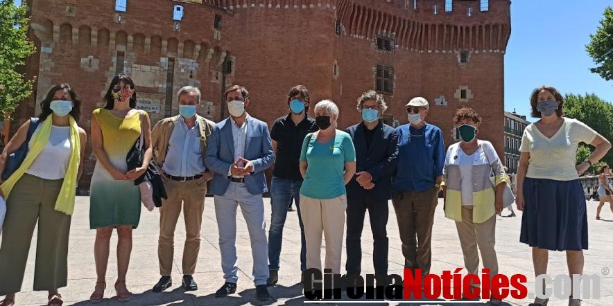 alt - Membres el Consell per la República a Perpinyà