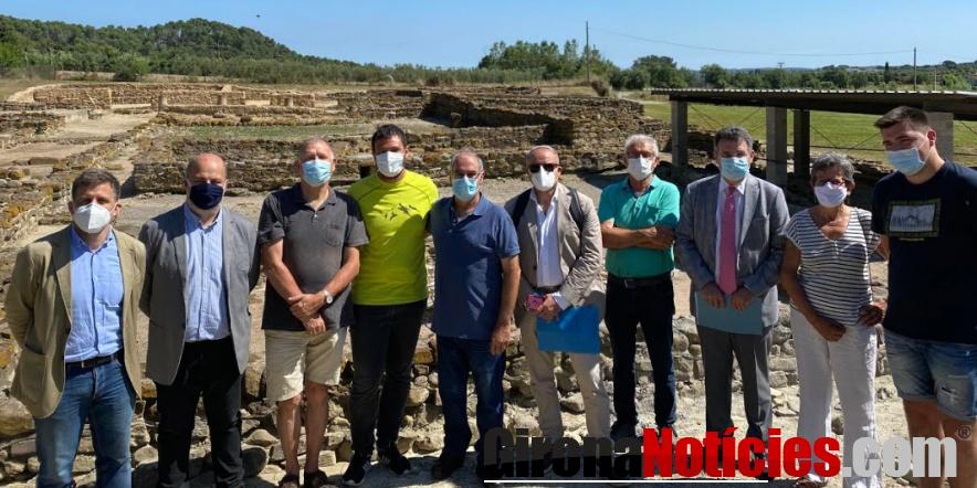 excavacions arqueològiques a Vilauba
