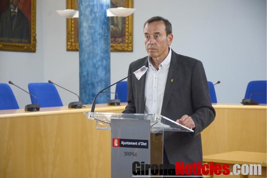 L'alcalde d'Olot, Pep Berga