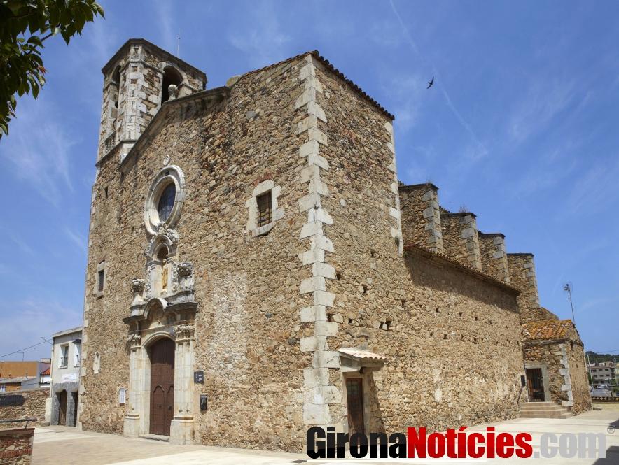 Esgésia de Santa Eugènia de Sant Joan. (J.Geli)