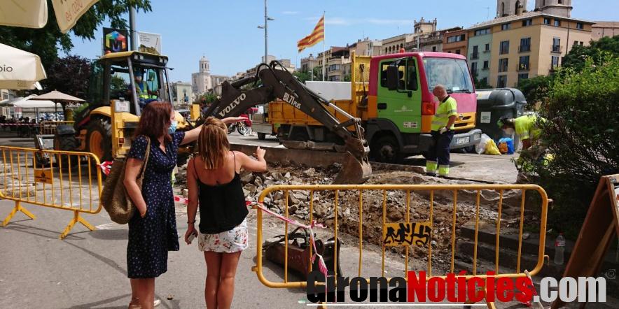Actuacions plaça Catalunya