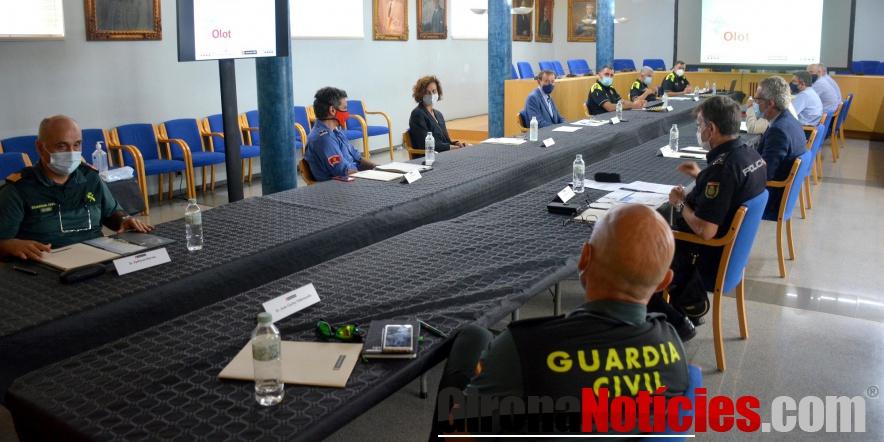 Junta de Seguratat a Olot