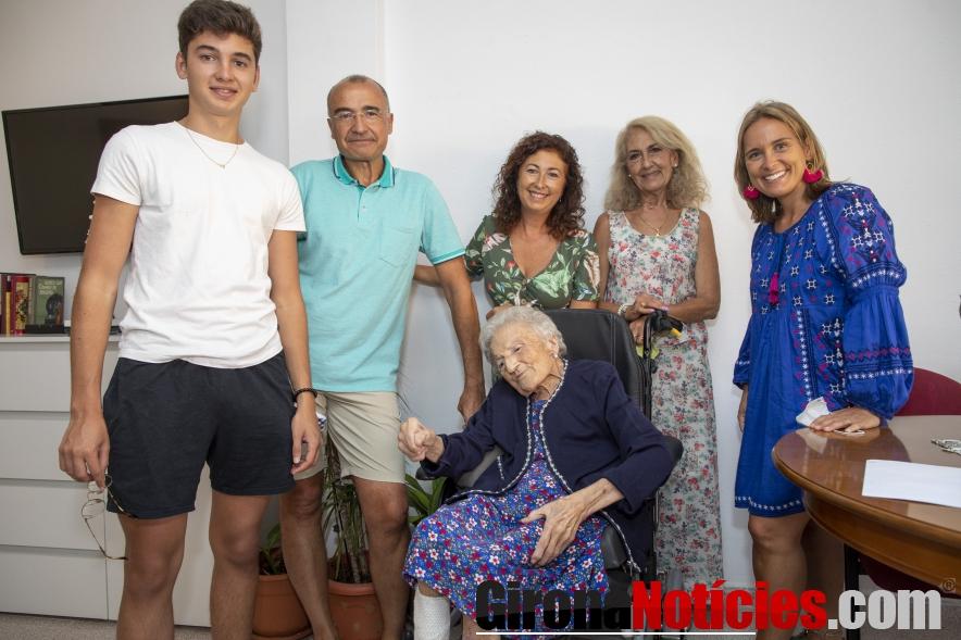 Centenària Maria Rodríguez