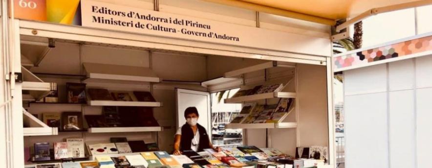 alt - Balanç satisfactori de la participació d'Andorra a la 38a Setmana del llibre en català