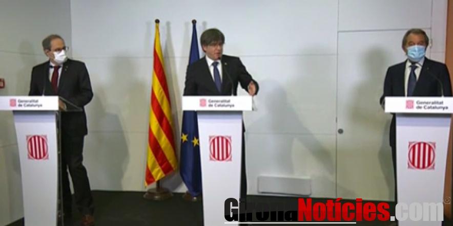 Roda de Premsa a la Casa de la Generalitat