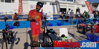 alt - Marc Rodriguez Palet paratriatleta gironí del club Triatló Girona Costa Brava Trade INN