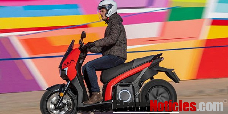 alt - La SEAT MÓ eScooter 125 eléctrica