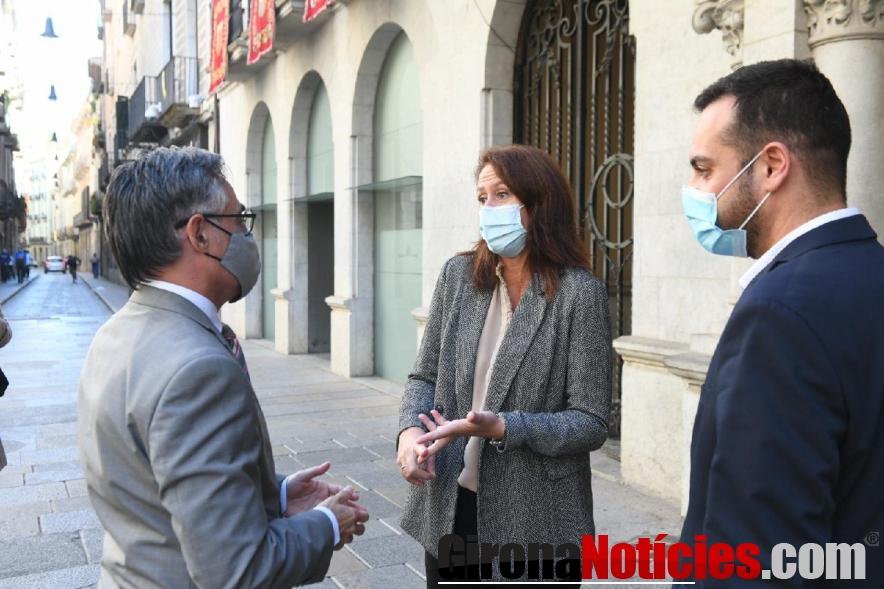 Visita Tremosa a Girona