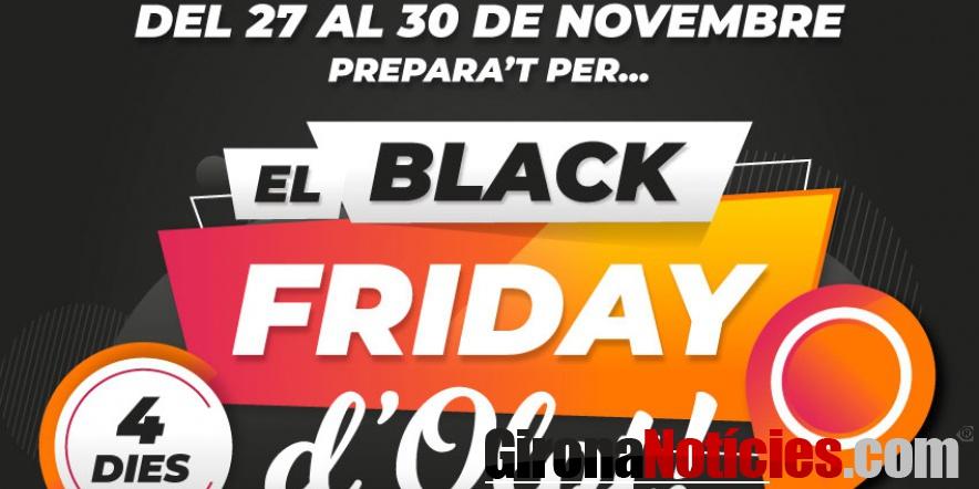 L'Associació de comerciants d'Olot se suma al Black Friday