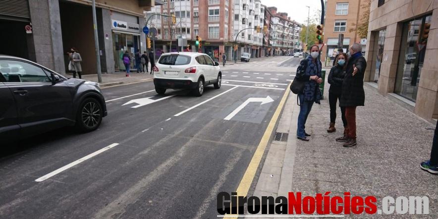 El carrer del Migdia s'ha reobert al trànsit després dels treballs de millora de la xarxa de sanejament