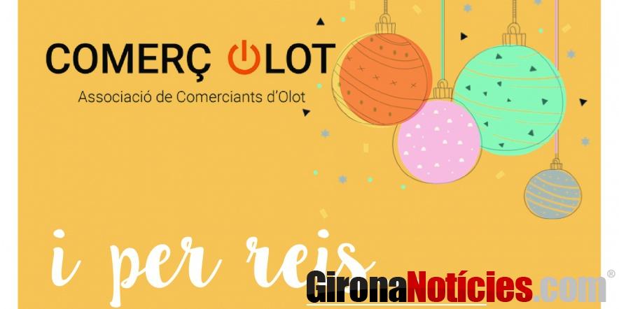 L'Associació de Comerciants d'Olot inicia la campanya de Nadal