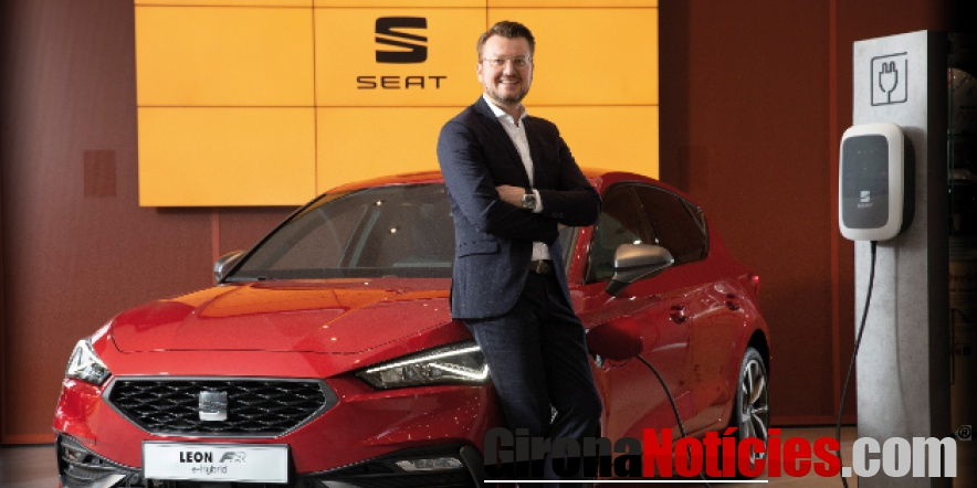 alt - Christian Friedl, nuevo director de la planta de SEAT en Martorell