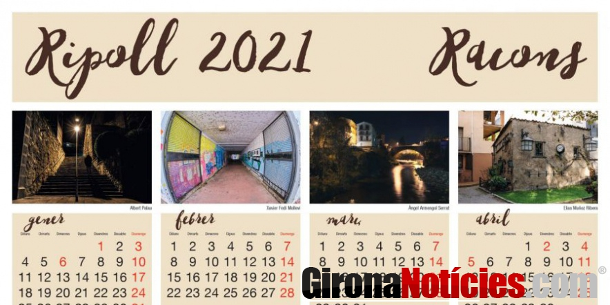 Calendari Ripoll 2021