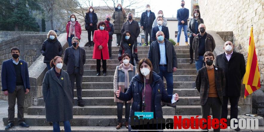 Junts presenta a Girona una candidatura