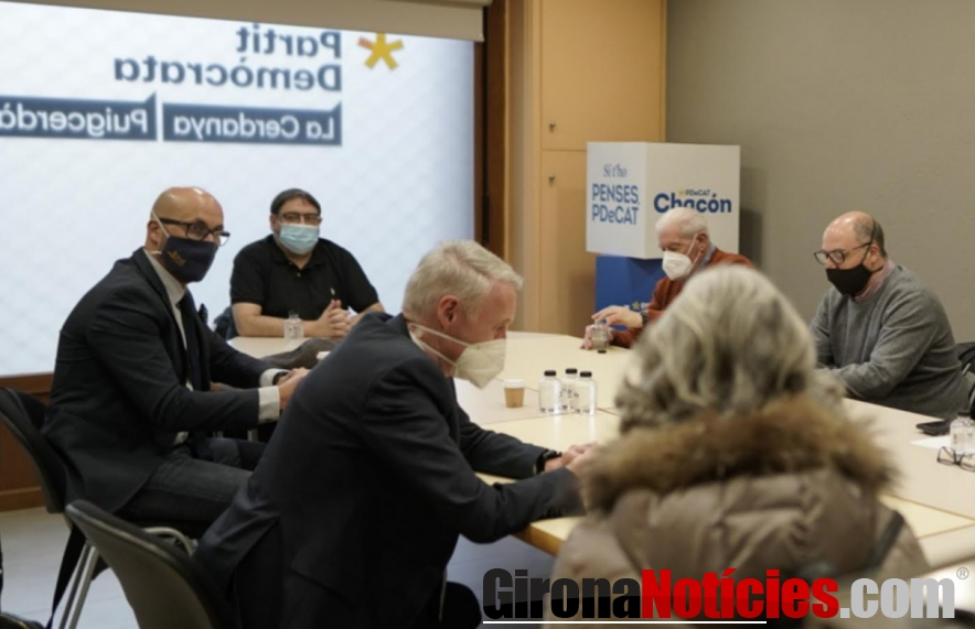 PDeCAT presenta els candidats de la Cerdanya