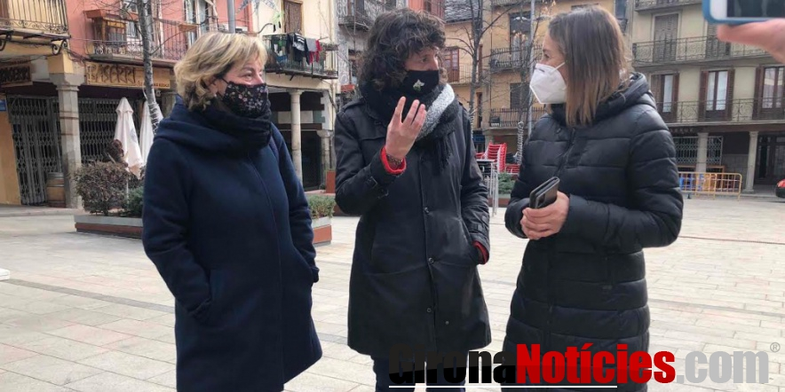Teresa Jordà visita Puigcerdà