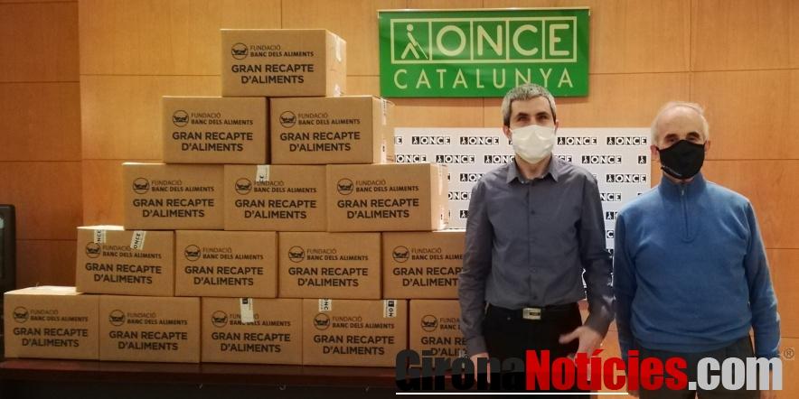 Lliurament al Banc d'Aliments de Girona