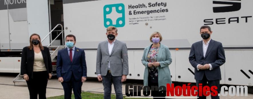 alt - SEAT S.A. ofrece sus recursos sanitarios para vacunar a la población contra la COVID-19