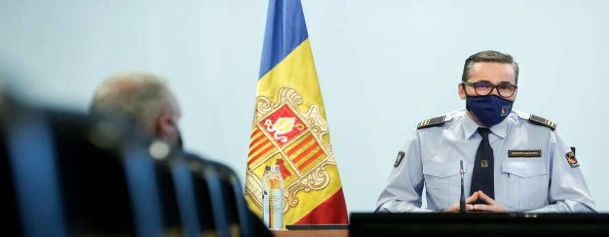 alt - 6.623 actuacions del Cos de Bombers d'Andorra durant el 2020