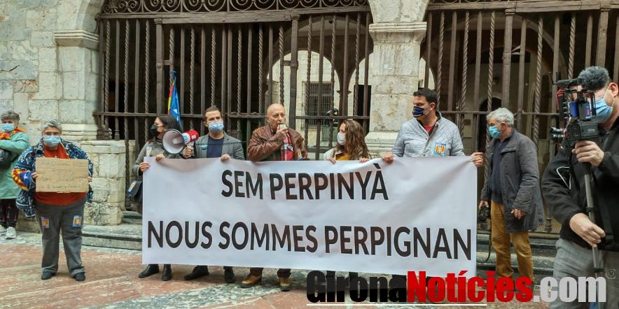 alt - Manifestació a Perpinyà