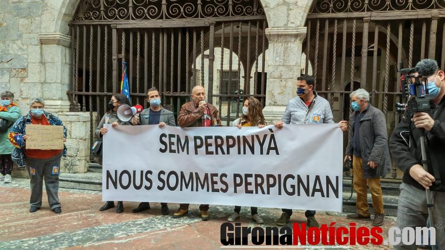 Manifestació a Perpinyà