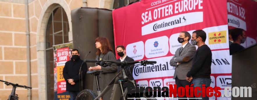 alt - Girona acollirà una prova de la Copa del Món de Bicicletes Elèctriques en el marc de la Sea Otter Europe