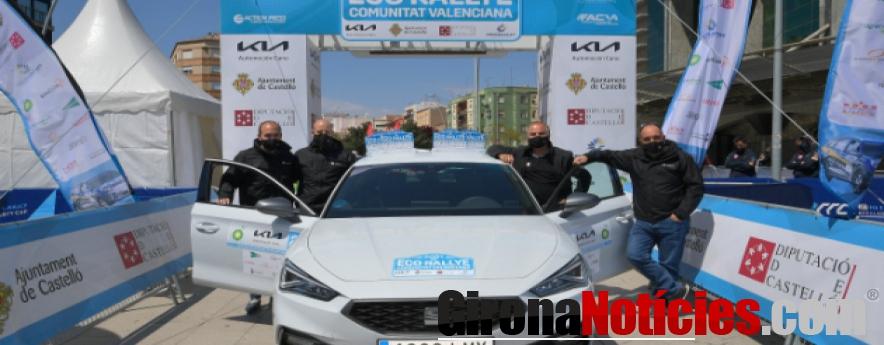 alt - Victoria de SEAT en la categoría de vehículos híbridos enchufables del Eco Rallye de la Comunitat Valenciana