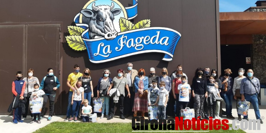 Visita a la Fageda