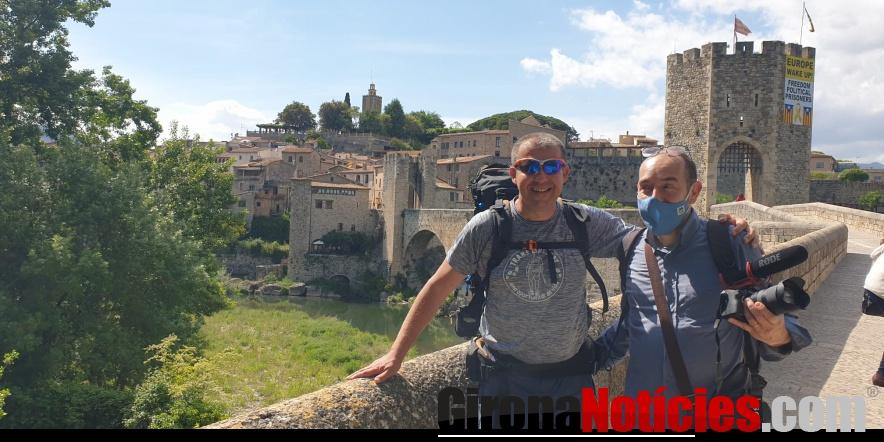 Àlex Florensa fa parada a Besalú