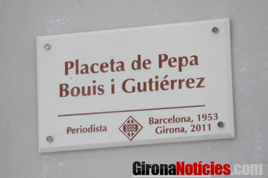Placeta de Pepa Bouis i Gutiérrez