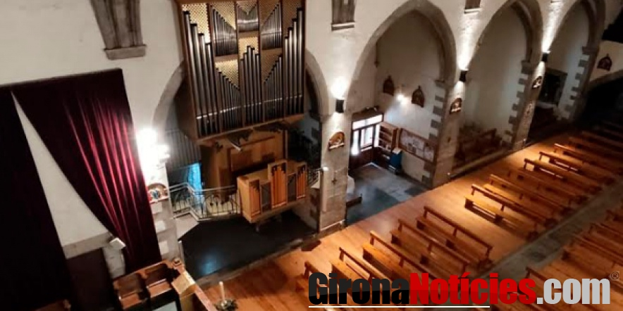 alt - Església Mare de Déu dels Àngels de Llívia
