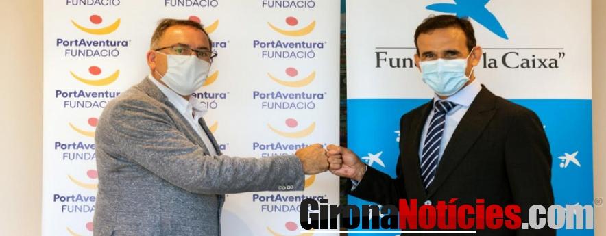 alt - La Fundación 'la Caixa' y CaixaBank colaboran con Fundación PortAventura para impulsar proyectos sociales
