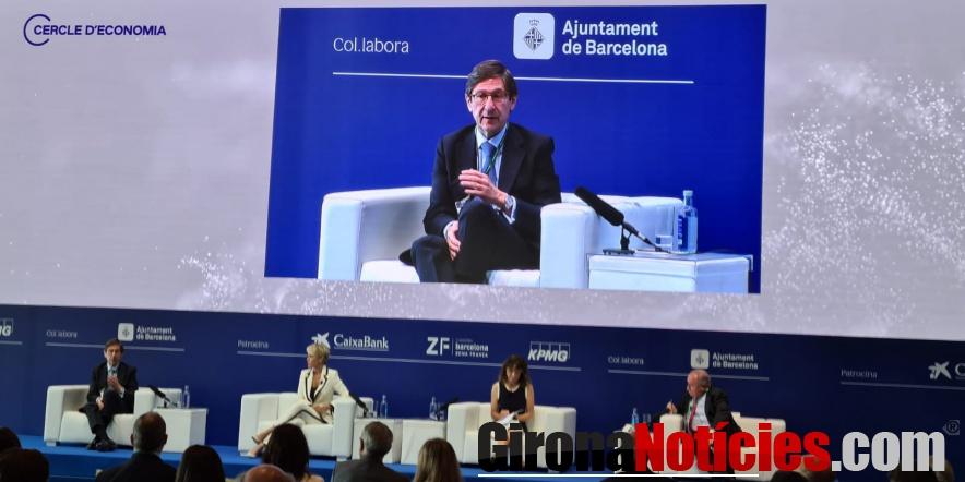 José Ignacio Goirigolzarri, durante su intervención