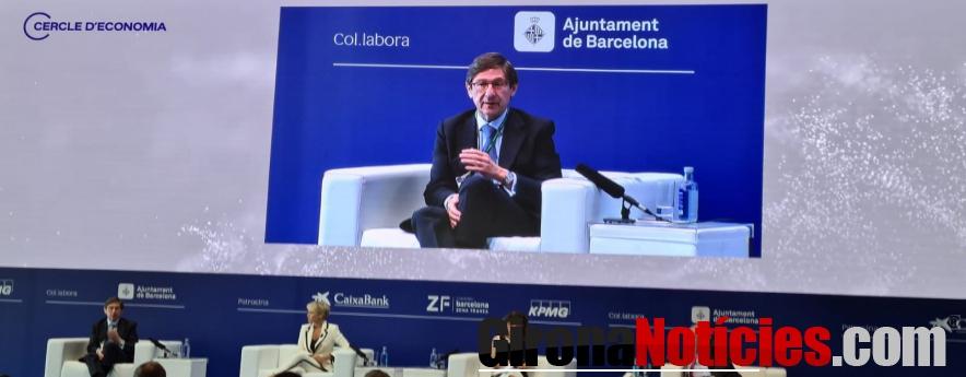 """alt - Goirigolzarri ve en los fondos Next Generation de la UE una """"oportunidad muy importante"""" para afrontar los cambios que necesita la economía"""